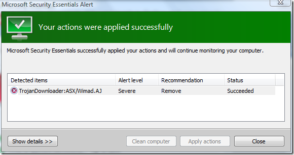 121 Microsoft Security Essential   Free Virus Remover Tool from Microsoft Team