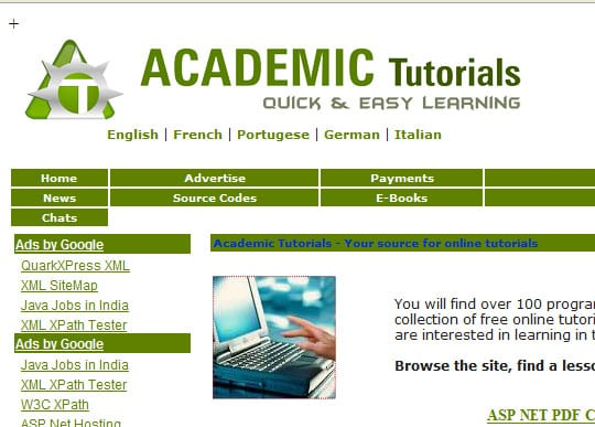 AcademicTutorial 15 Best Websites that can make you a Web Designer