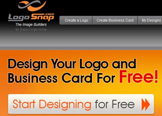 logosnap 9 Best Websites For Designing Your Logos Online For Free