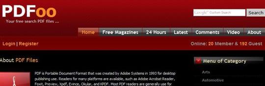 PDFoo 30 siti dove poter scaricare ebook gratis