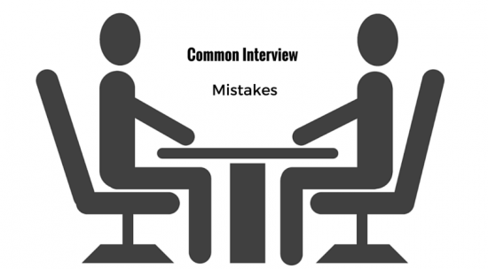 Most Common Interview Mistakes People Make