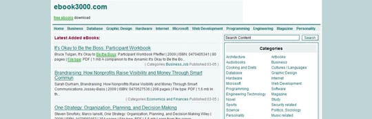 ebook3000 30 siti dove poter scaricare ebook gratis