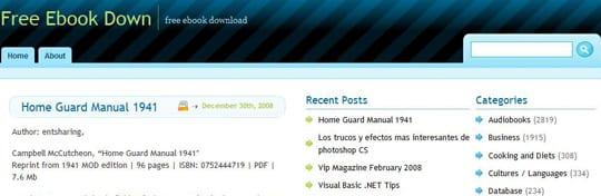 freeebookdowns 30 siti dove poter scaricare ebook gratis
