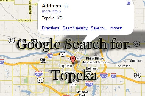 google search for topeka