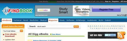 ufindbook 30 siti dove poter scaricare ebook gratis