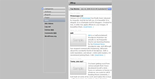 jQyery Sliders and Collapsible Sidebars as seen on Apple.com