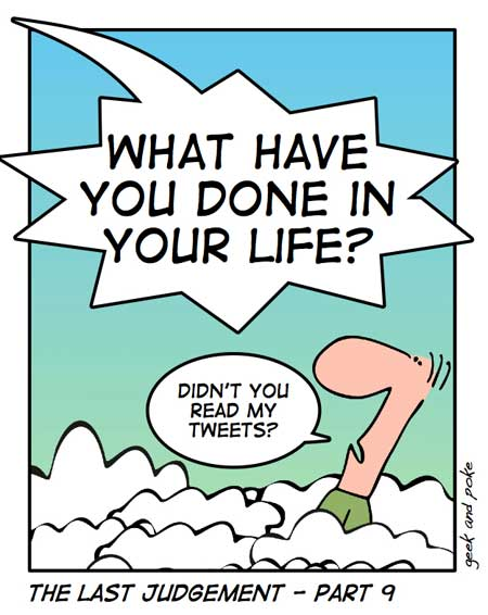 Twitter Comic Strips