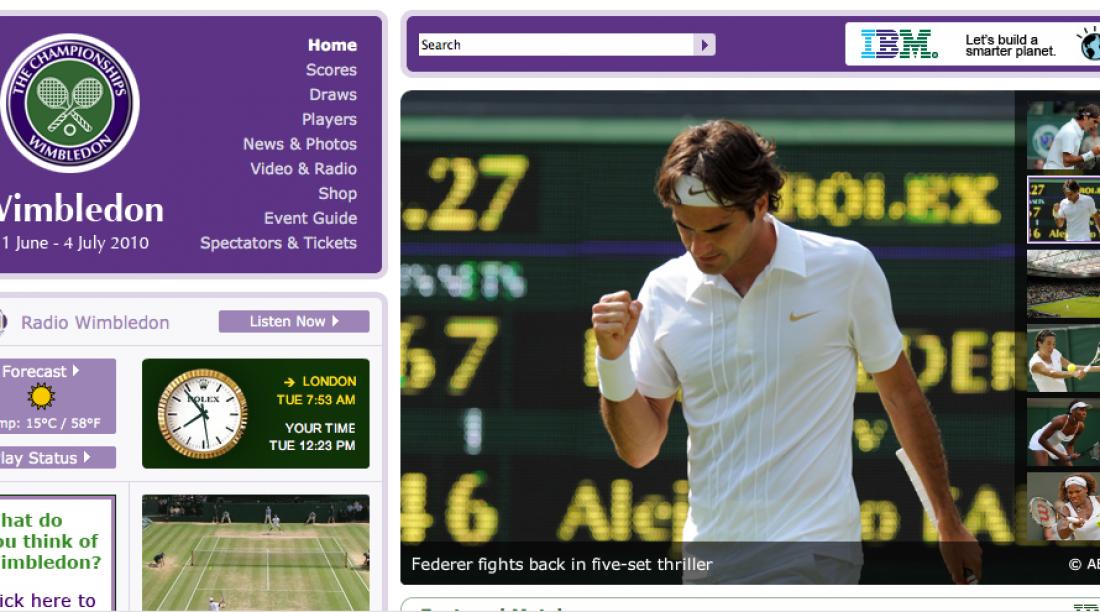 Watch Wimbledon 2010 Online For Free