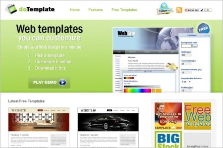 9 best and free online template generators for websites or for Can i download wix templates