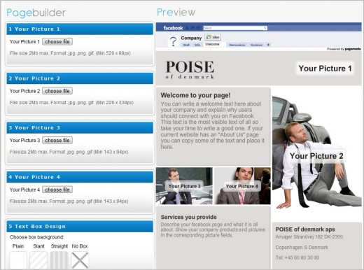 editor e1278399549437 How To Create Impressive Welcome Page For Your Facebook Fan Page Absolutely Free