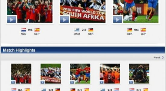 Top 6 Free Sites To Watch Highlights Of FIFA World Cup 2010 Matches
