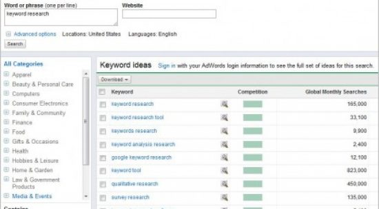 12 Free Keyword Research Tools For Webmasters