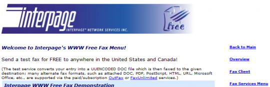 Free-Online-Fax-Services-Interpage