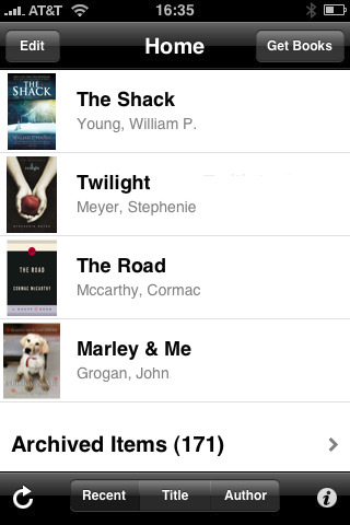 kindle 42 Best And Free iOS 4 Apps For Your iPhone