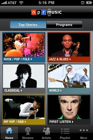 npr music 42 Best And Free iOS 4 Apps For Your iPhone