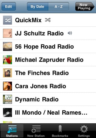 pandora radio 42 Best And Free iOS 4 Apps For Your iPhone