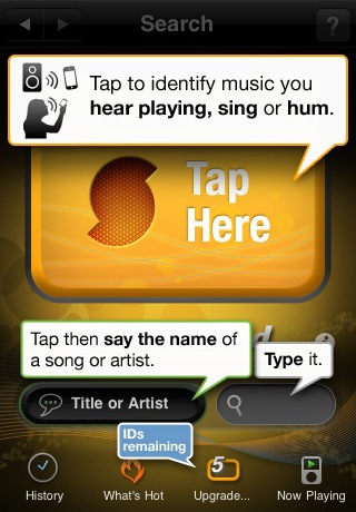 soundhound 42 Best And Free iOS 4 Apps For Your iPhone