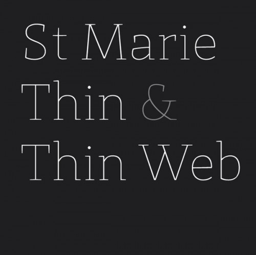 st marie e1279956152443 25 High Quality And Creative Fonts For Free Download