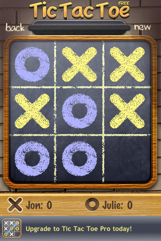 tic tac toe 42 Best And Free iOS 4 Apps For Your iPhone