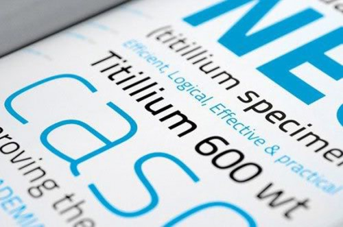 titillium e1279955119404 25 High Quality And Creative Fonts For Free Download