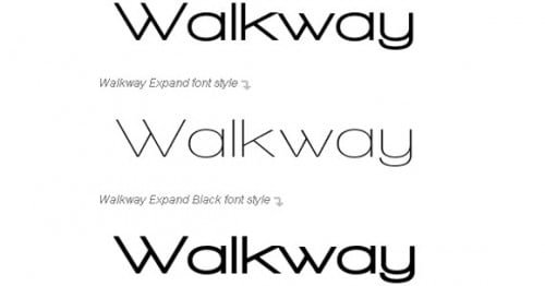 walkaway e1279954222622 25 High Quality And Creative Fonts For Free Download