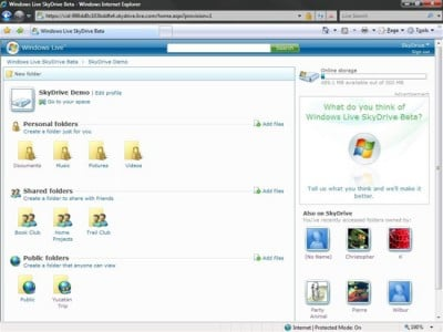windows live skydrive e1278105414284 Top 10 Free Microsoft Products Worth Checking Out