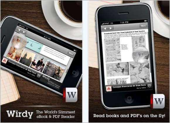 wirdy e1278746567630 Top 10 Best And Free E Book Reader Apps For Your iPhone