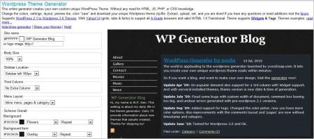 Online Template Generators