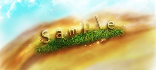 photoshop_text_effect_transparent_grass