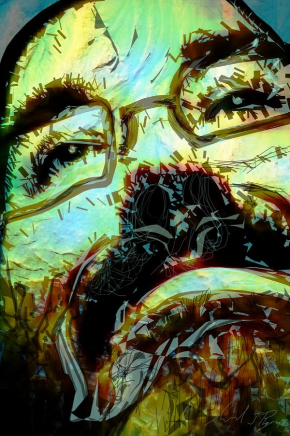 Artistic Examples Of iPad Finger Painting