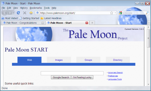 palemoonbrowser e1282895539181 18 Amazing Alternative Web Browsers You Should Try