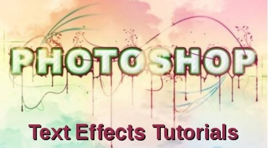 20 Highly Useful Photoshop Text Effect Tutorials For Designers