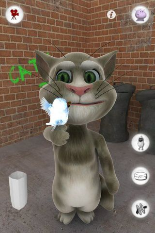talking tom cat 1 8 Best Free Hilarious iPhone Apps To Make You Laugh