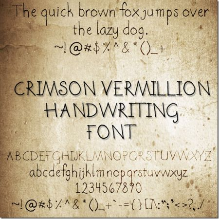 creative handwritten fonts