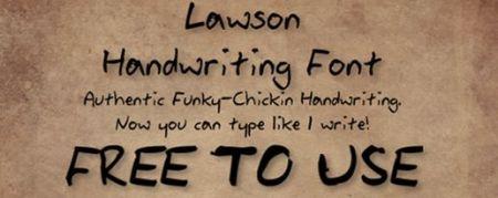 creative handwritten fonts