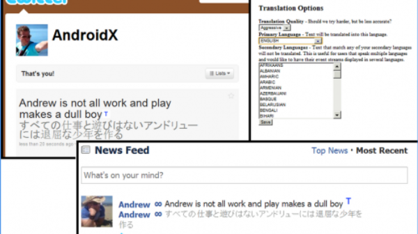 How To Translate Tweets And Facebook Updates Via Google Chrome Extension