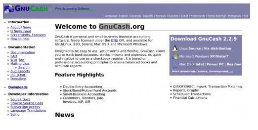 Screen shot 2010 10 13 at 4.57.27 PM 9 Best Free Accounting Software For Your Business