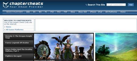 Game Cheat Code Websites