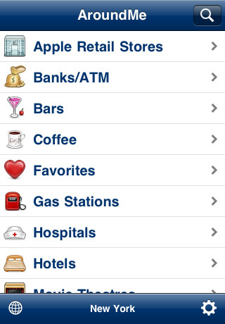 around me Top 100 Best Free iPhone 4 Apps