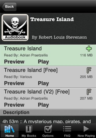 audiobooks Top 100 Best Free iPhone 4 Apps