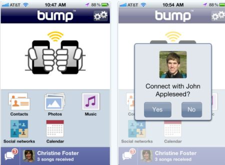 bump Top 100 Best Free iPhone 4 Apps