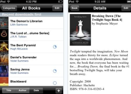 e reader Top 100 Best Free iPhone 4 Apps