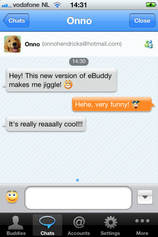 ebuddy1 Top 100 Best Free iPhone 4 Apps
