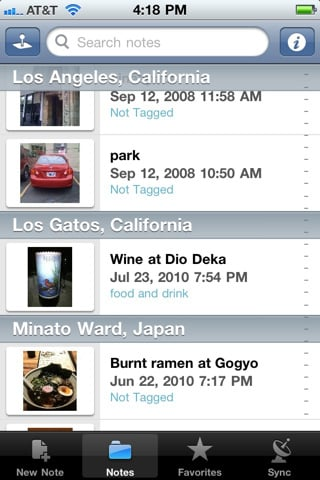 evernote2 Top 100 Best Free iPhone 4 Apps