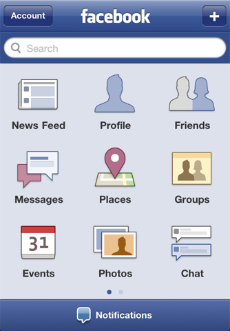 facebook Top 100 Best Free iPhone 4 Apps