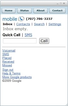 google voice desktop app1 5 Great Google Voice Desktop Apps For Mac And Windows