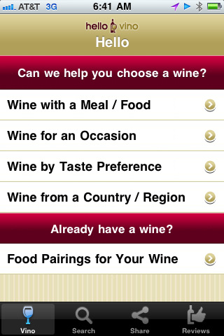 hello vino Top 100 Best Free iPhone 4 Apps
