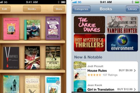ibooks Top 100 Best Free iPhone 4 Apps