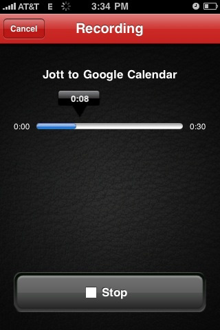 jott Top 100 Best Free iPhone 4 Apps