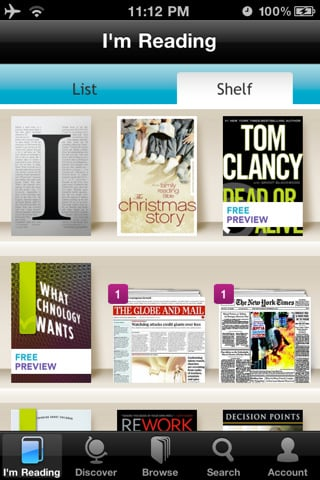 kobo Top 100 Best Free iPhone 4 Apps